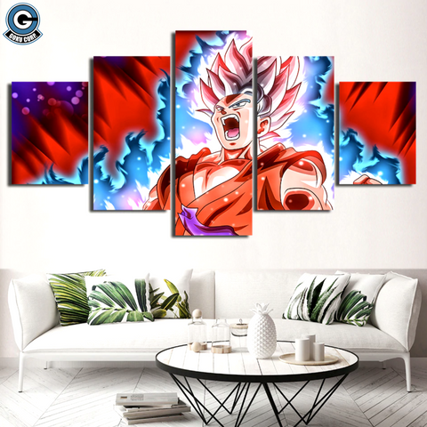 Goku Wall Canvas