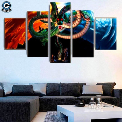 Shenron Canvas