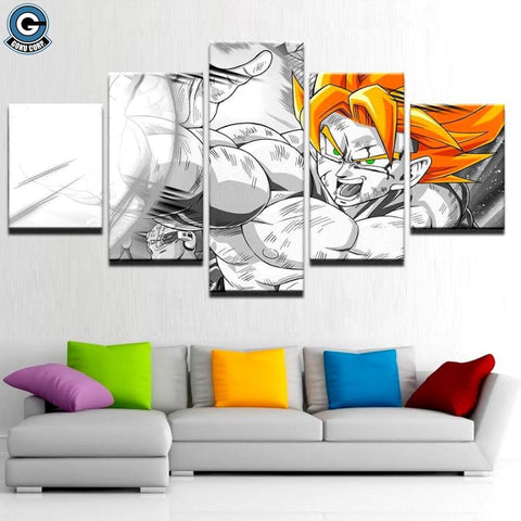 Super Saiyan Canvas