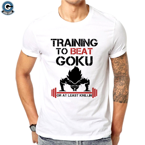 Training to Beat Goku Shirt