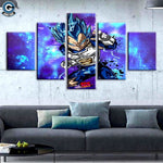 Vegeta 5 Piece Canvas