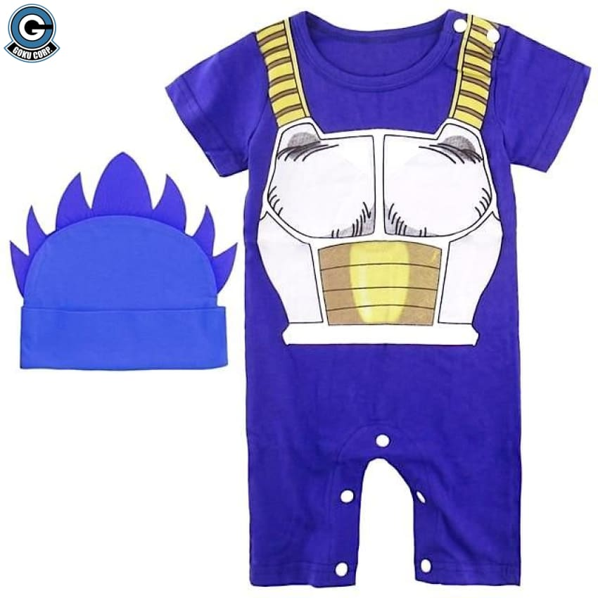 Dragon Ball Z Baby Clothes Vegeta Costume