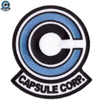 Capsule corp logo patch