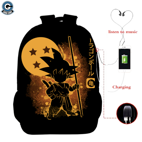 Dragon Ball Book Bag
