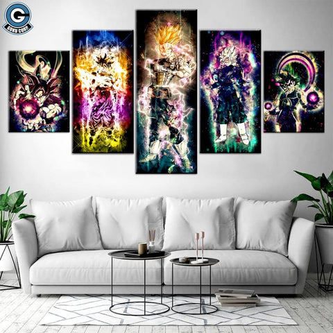 Dragon ball super wall art