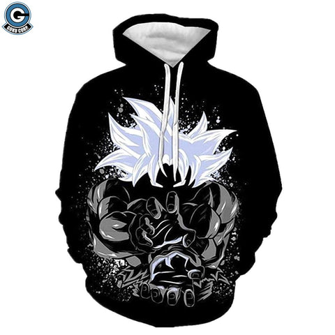 Dragon ball ultra instinct hoodie