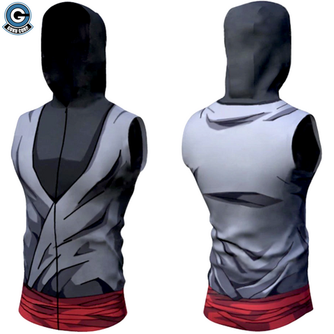 Dragon Ball Sleeveless Hoodie - Goku Black