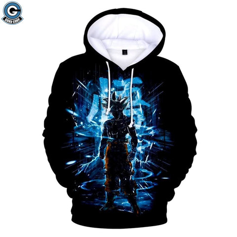 Dragon ball z ultra instinct hoodie