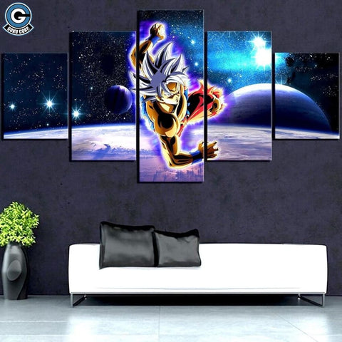 Goku 5 Piece Canvas