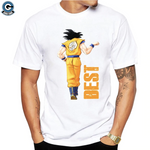 Goku and Vegeta Fist Bump Shirt