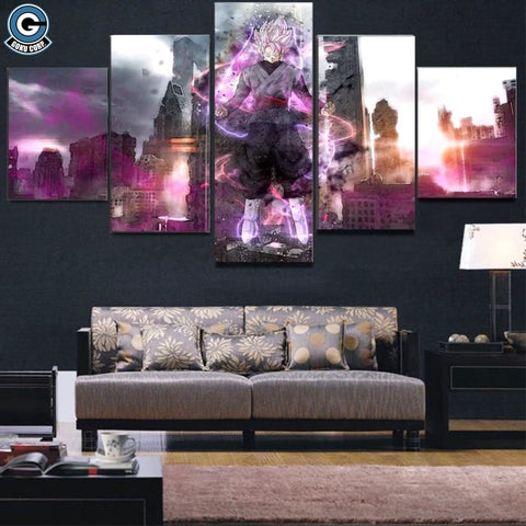 Goku Black Wall Art