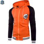 Goku orange and black jacket