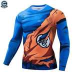 Goku training shirt