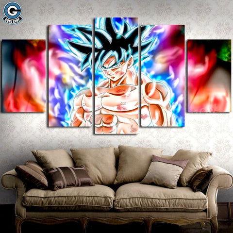 Goku Ultra Instinct Lighting Wall Art