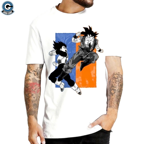 goku vs vegeta shirt