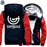 capsule corp thick hoodie