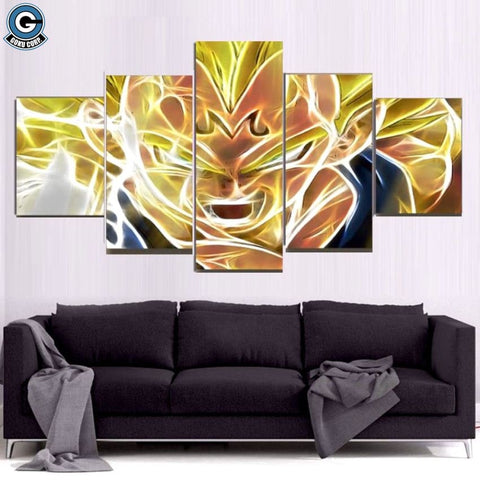 Majin Vegeta Wall Art