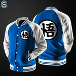 Dragon Ball Z Varsity Jacket Goku )