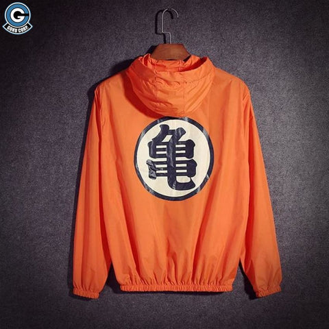 Dragon Ball Z Windbreaker <br>Goku Kame Symbol )