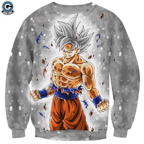 Ultra Instinct Goku Sweater