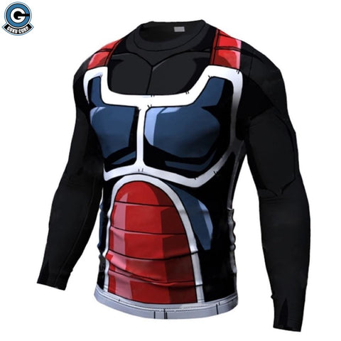 Saiyan Armor Workout Shirt