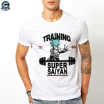 Training To Go Super Saiyan Shirt