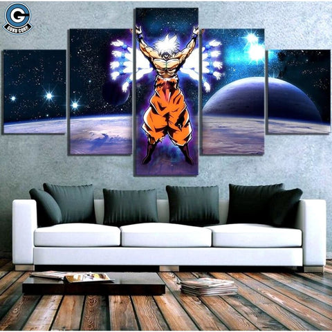 Ultra Instinct Goku Canvas
