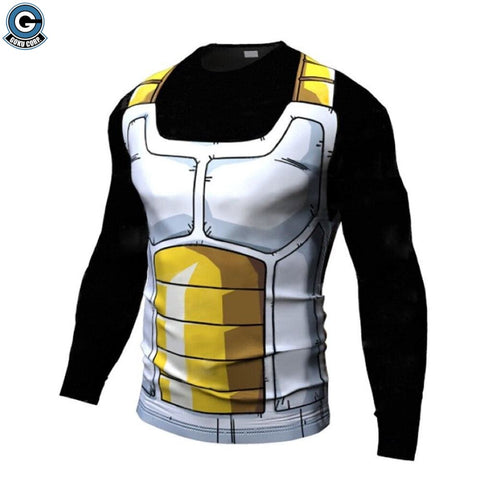 Vegeta armor workout shirt