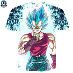 Vegeta Blue Shirt