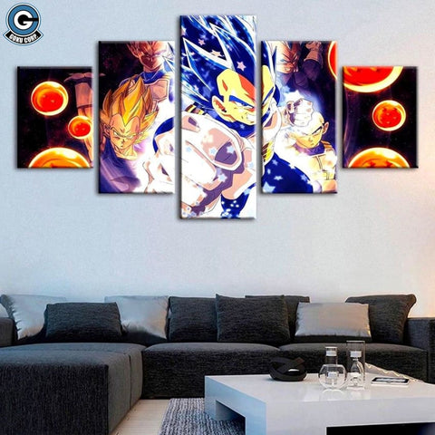 Vegeta Canvas Art