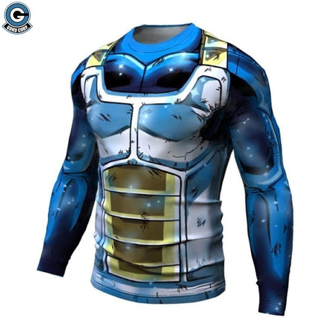 Vegeta super saiyan blue shirt