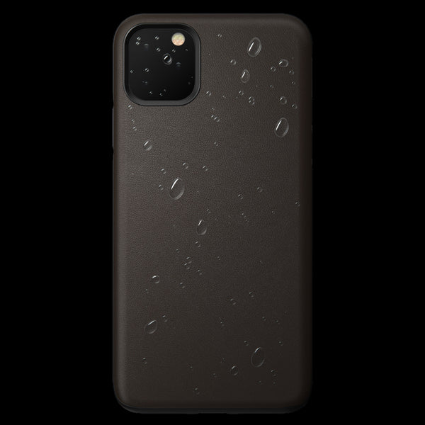 Nomad Rugged Active Leather Case for iPhone 11 Pro Max - Mocha Brown