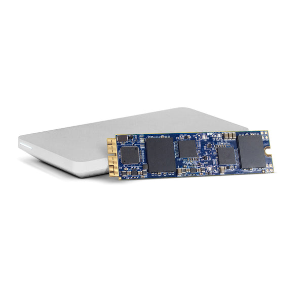2TB OWC Aura Pro Xp SSD with tools and Envoy SSD enclosure (for Mac Pro 2013)
