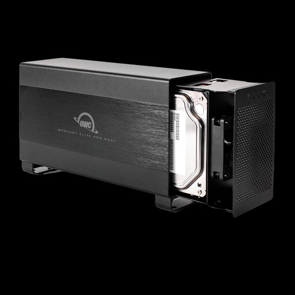 12TB HDD OWC Mercury Elite Pro Dual Performance RAID Storage Solution (with Thunderbolt 2 and USB 3.1 ports)
