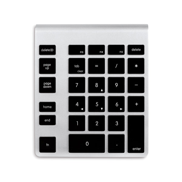 NewerTech Wireless Aluminium Numeric KeyPad - Black Keys