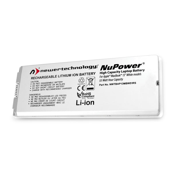 NewerTech NuPower 60W Battery (for White Pre-Unibody MacBook 13.3
