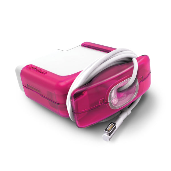 Juiceboxx Charger Case (for 85w Apple Power Adapter/Charger) - Magenta