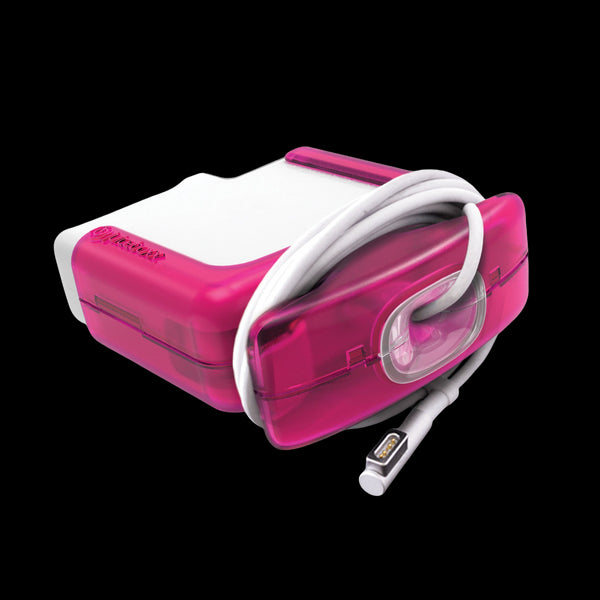 Juiceboxx Charger Case (for 60w Apple Power Adapter/Charger) - Magenta