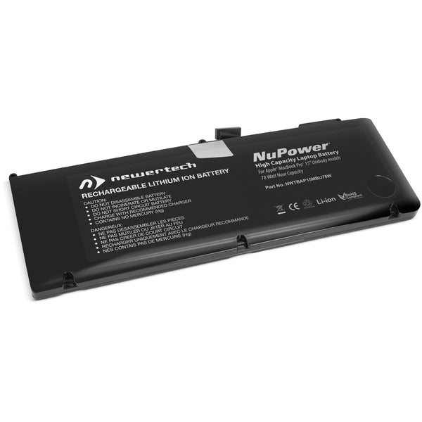 NewerTech NuPower 77.5W Battery (for MacBook Pro 15-inch Unibody Early & Late 2011, Mid-2012)