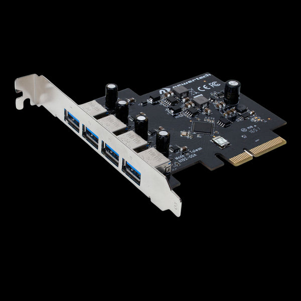 NewerTech MAXPower x4 PCIe Controller Card with 4 x USB 3.1 Gen1 Ports