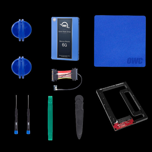 2TB OWC 6G SSD and HDD DIY Bundle Kit (for 27