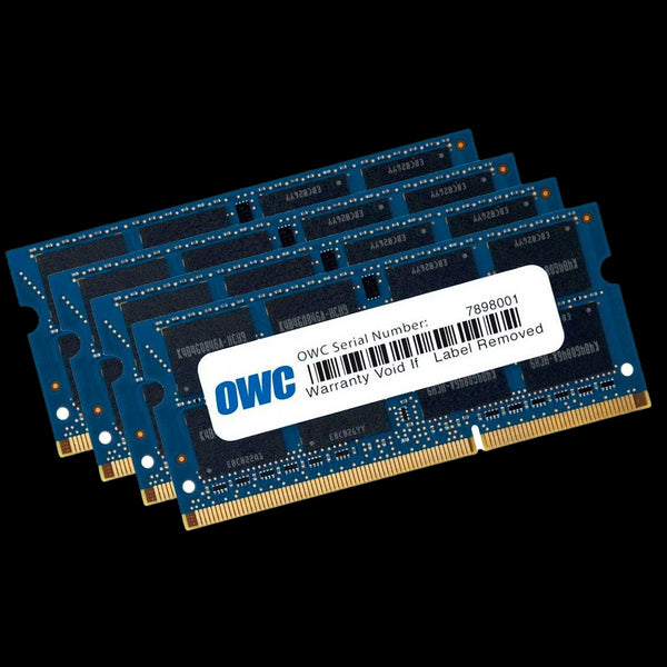 32GB OWC Matched Memory Upgrade Kit (4 x 8GB) 1066MHz PC3-8500 DDR3 SO-DIMM