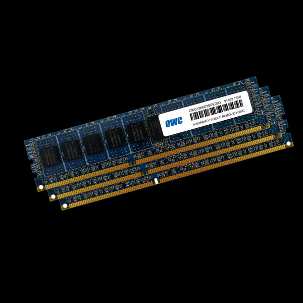24GB OWC Matched Memory Upgrade Kit (3 x 8GB) 1866MHz PC3-14900 DDR3 ECC Non-Registered 240 Pin SDRAM