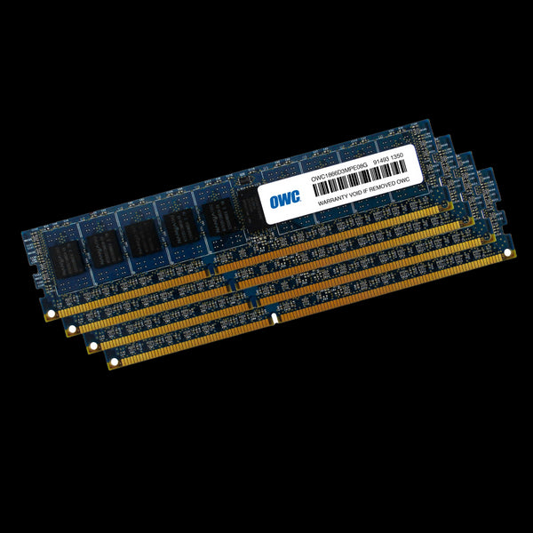 32GB OWC Matched Memory Upgrade Kit (4 x 8GB) 1866MHz PC3-14900 DDR3 ECC Non-Registered 240 Pin SDRAM