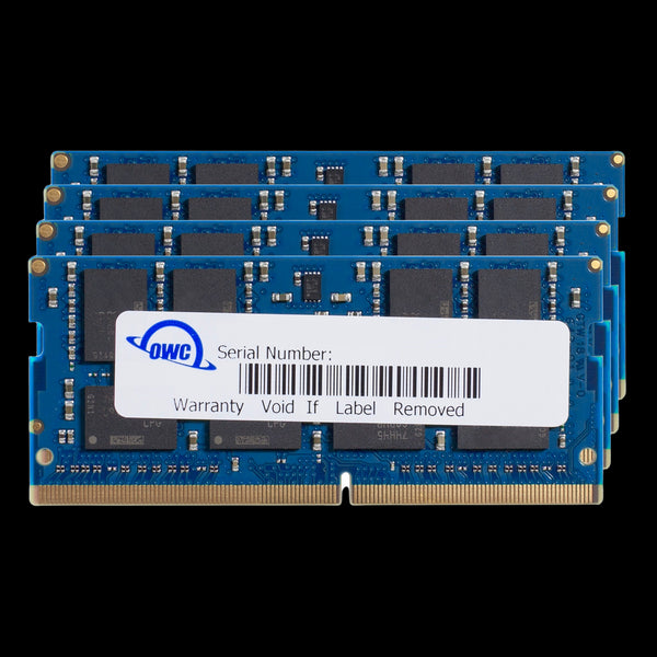 64GB OWC Matched Memory Upgrade Kit (4 x 16GB) 2666MHz PC4-21300 DDR4 SO-DIMM