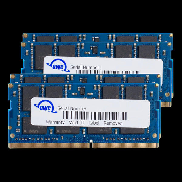 96GB OWC Matched Memory Upgrade Kit (2 x 32GB + 2 x 16GB) 2666MHz PC4-21300 DDR4 SO-DIMM