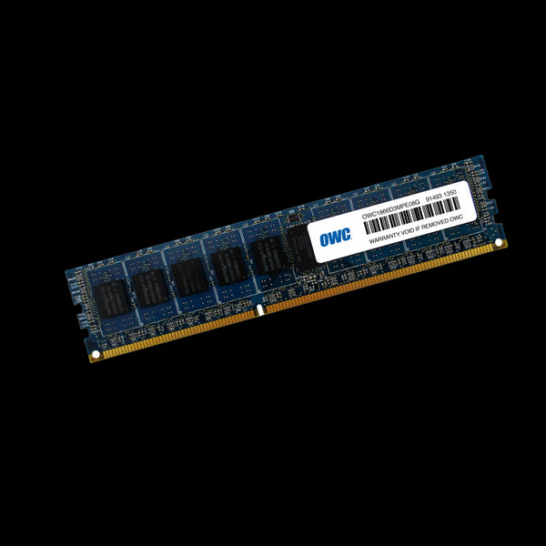 8GB OWC Memory Module (1 x 8GB) 1866MHz PC3-14900 DDR3 ECC Non-Registered 240 Pin SDRAM