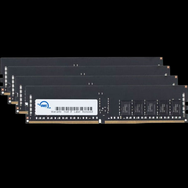 256GB OWC Matched Memory Upgrade Kit (4 x 64GB) 2666MHZ PC4-21300 DDR4 LRDIMM with Adhesive Strips  (for iMac Pro)