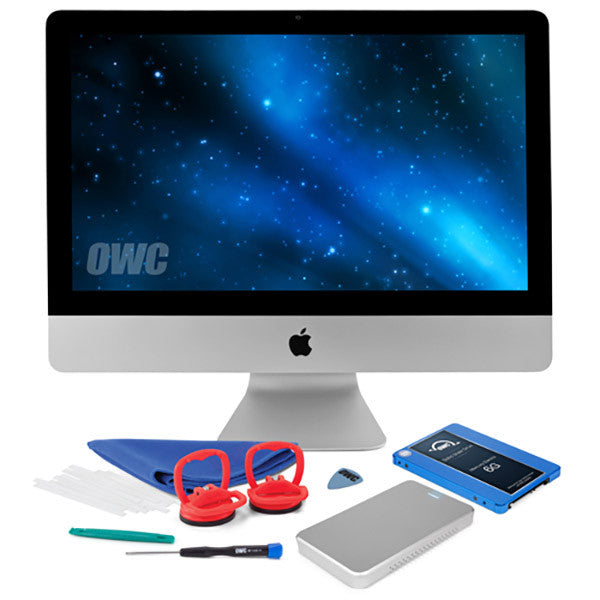 120GB OWC 6G Pro SSD and HDD DIY Bundle Kit (for 21.5