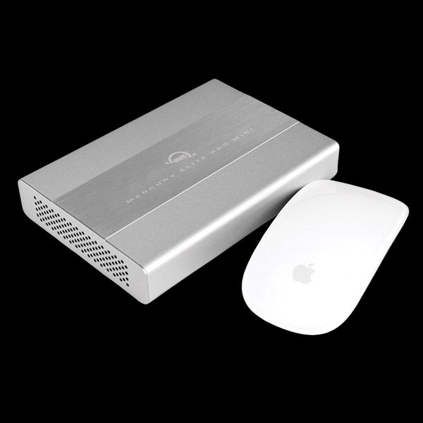 1TB OWC SSD Mercury Elite Pro mini Portable External Storage (USB 3.1 Gen 2 & eSATA)